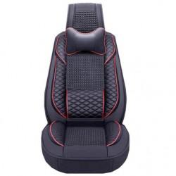 Σετ Pu Leather καλύμματα καθισμάτων αυτοκινήτου 11 τεμ.