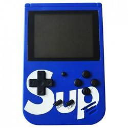 Φορητή ρετρό παιχνιδομηχανή 8-Bit 400 σε 1 Blue