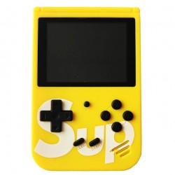 Φορητή ρετρό παιχνιδομηχανή 8-Bit 400 σε 1 Yellow