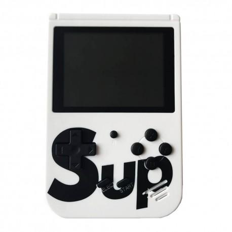 Φορητή ρετρό παιχνιδομηχανή 8-Bit 400 σε 1 White