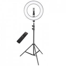 Επαγγελματικό Ring Lamp Light LED με τηλεκοντρόλ 32cm