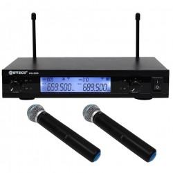 Ψηφιακή studio quality συσκευή Karaoke με 2 ασύρματα μικρόφωνα WG-2009b