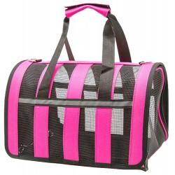 Pet τσάντα μεταφοράς σετ 3 τμχ - Φούξια