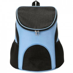 Τσάντα μεταφοράς backpack για μικρά κατοικίδια - Γαλάζιο