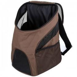 Τσάντα μεταφοράς backpack για μικρά κατοικίδια - Καφέ