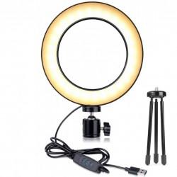 Επαγγελματικό Ring Lamp Light LED USB 20,7x3,8x23,8