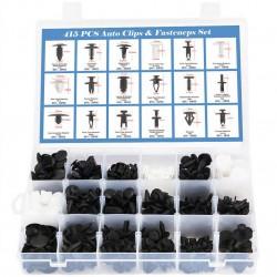 415 τμχ πλαστικές πινέζες κλιπ Κιτ 18 μεγέθη
