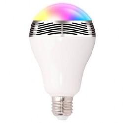 Smart Ηχείο - Λάμπα E27 6W RGB