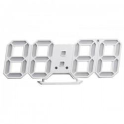 Μοντέρνο ψηφιακό ρολόι τοίχου 3D LED DS-6609
