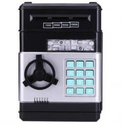 Ηλεκτρονικός κουμπαράς-χρηματοκιβώτιο με κωδικό ασφαλείας