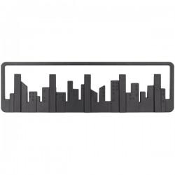 Wall shelf hook City - Κρεμάστρα τοίχου 5 θέσεων