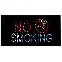 Φωτεινή επιγραφή LED No smoking
