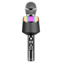 Ασύρματο μικρόφωνο BT με ηχείο Q008 - Μαύρο