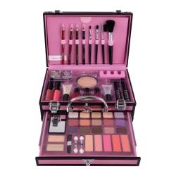 Βαλιτσάκι μακιγιάζ ροζ - Miss young make up kit