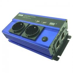 Inverter Andowl 12V-220V 1000W τροποποιημένου Ημίτονου QY-7011