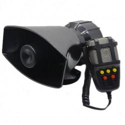 Κόρνα αυτοκινήτου 50W/300dB με 7 ήχους και μικρόφωνο