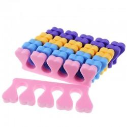 Διαχωριστικά δακτύλων μιας χρήσης για πεντικιούρ - 10 ζευγάρια