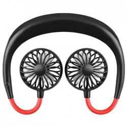 Wearable sports ανεμιστήρας Μαύρο
