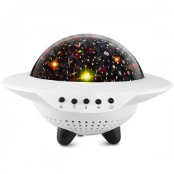 Παιδικός projector έναστρος ουρανός & ηχείο - UFO