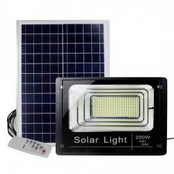 Ηλιακός προβολέας αδιάβροχος εξωτερικού χώρου 200W Solar light 8200