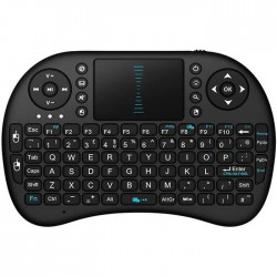 Mίνι ασύρματο πληκτρολόγιο με touchpad I8
