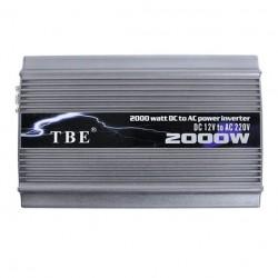 Μετατροπέας τάσης 12V σε 220V αυτοκινήτου -TBE 2000W
