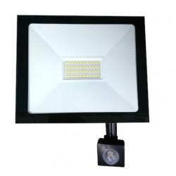 Αδιάβροχος προβολέας COB LED / 50W εξωτερικού χώρου με αισθητήρα κίνησης 4500lm