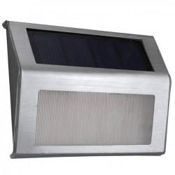 Ηλιακό ασημί φωτιστικό σκάλας