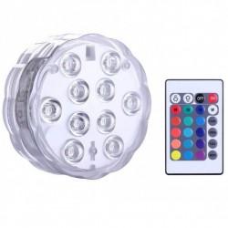 Αδιάβροχο, πολύχρωμο LED Φωτάκι με χειριστήριο