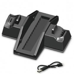 Διπλή βάση φόρτισης χειριστηρίων PS4 και κονσόλας