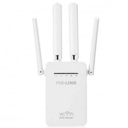 PIX-LINK Wi-Fi Repeater/Router/AP LV-WR09 Λευκό