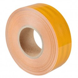 Ταινία σήμανσης ανακλαστική, αυτοκόλλητη 3M - Κίτρινο