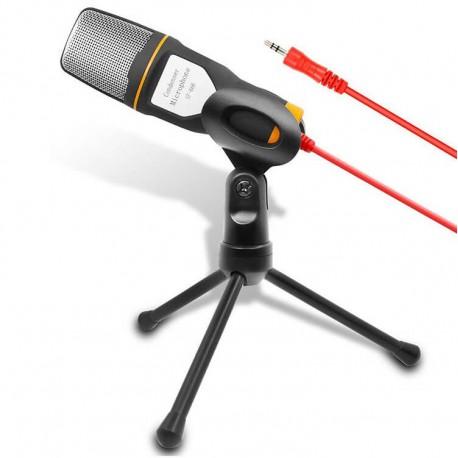 Πυκνωτικό μικρόφωνο ηχογραφήσεων με τρίποδο για Η/Υ SF-666
