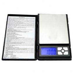 Ψηφιακή ζυγαριά υψηλής ακριβείας Notebook Series 500gr/1gr