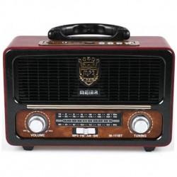 Φορητό ηχοσύστημα M111BT - Κόκκινο/Μαύρο