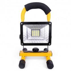 Eπαναφορτιζόμενoς φορητός LED προβολέας με βάση 30W