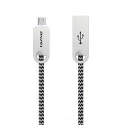 Awei USB σε micro USB CL-30 Γκρι