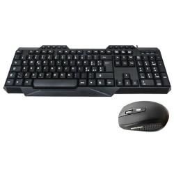Ασύρματο σετ πληκτρολόγιο και ποντίκι 2.4GHz Andowl Q-805