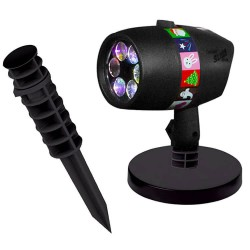 Εορταστικός laser projector εξωτερικού χώρου - 12 Slides