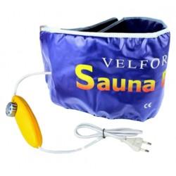 Ζώνη αδυνατίσματος και εφίδρωσης θερμαινόμενη με τηλεχειριστήριο - Velform Sauna Belt
