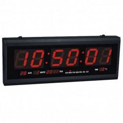 Πινακίδα LED με ώρα, θερμόμετρο και ημερολόγιο JH4819