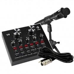 Πυκνωτικό μικρόφωνο με πλήρες σετ εγγραφής - 881735 V8
