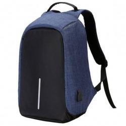 Τσάντα πλάτης αδιάβροχη με θύρα USB Anti-Theft Backpack Μπλε