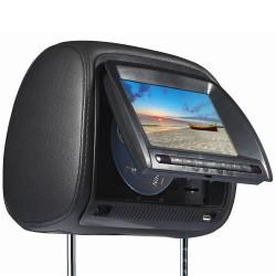 """Σετ 2 προσκέφαλα καθίσματος αυτοκινήτου με οθόνη TFT 7"""", DVD Player - FZ666"""
