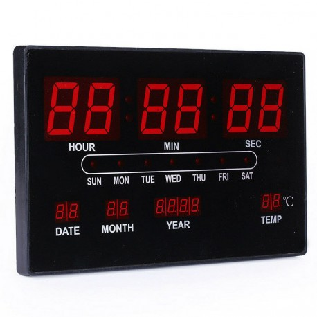 Ψηφιακό ρολόι LED HB-315