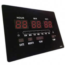 Ψηφιακό ρολόι LED 2939Α
