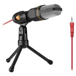Πυκνωτικό μικρόφωνο ηχογραφήσεων με τρίποδο για Η/Υ ANDOWL Q-888