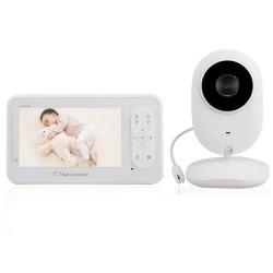 """Ενδοεπικοινωνία μωρού 3.5"""" με ένδειξη θερμοκρασίας και νυχτερινή λειτουργία BM-850"""
