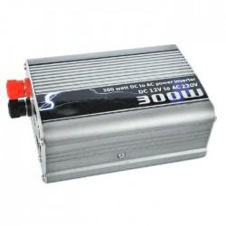 Μετατροπέας ρεύματος αυτοκινήτου από DC 12V σε AC 110/220V & έξοδο 5V - 300W