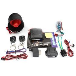 Σύστημα συναγερμού αυτοκινήτου με σειρήνα και 2 τηλεχειριστήρια OEM TSK-100